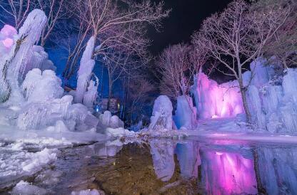 嵩县冰挂 错过又是一年
