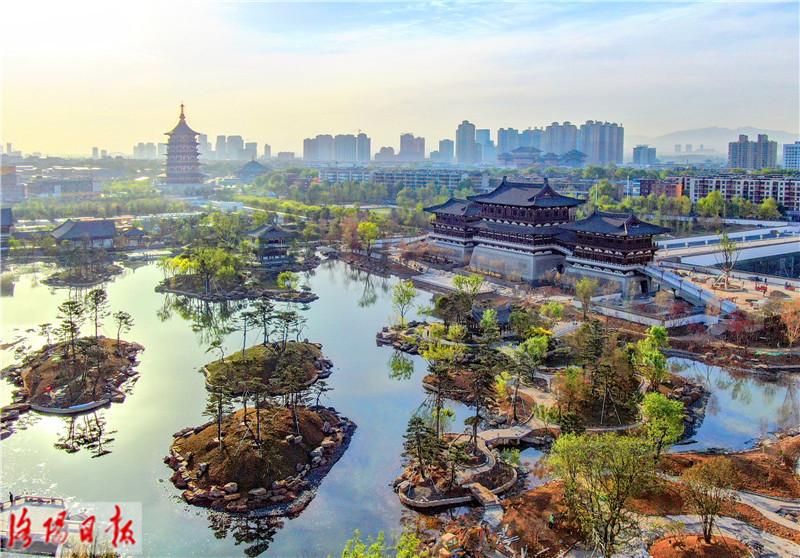 """洛阳新""""网红""""地标九洲池竟是一座皇家园林!"""