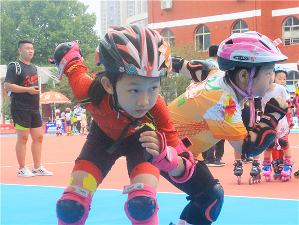36支队619人参赛!洛阳市第二届全民健身运动会轮滑赛今日举行